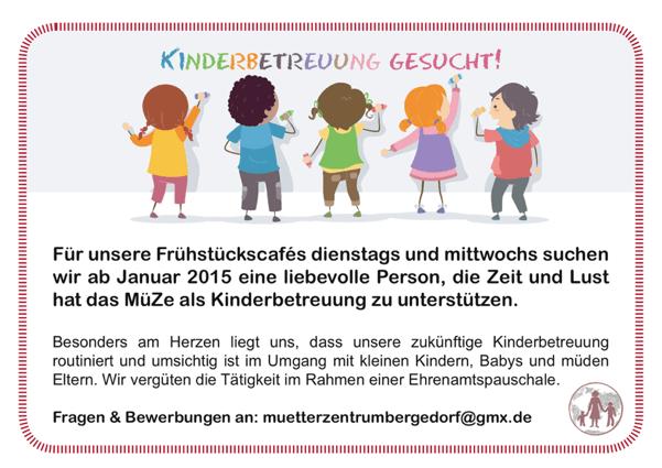 Kinderbetreuungsgesuch